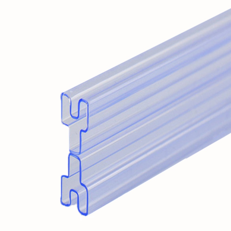 Custom PVC IC packaging tubes